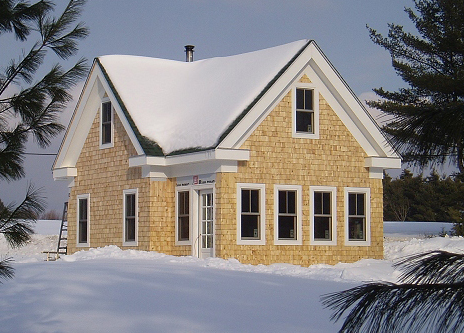 Lloyd s blog maine builder specializes in small not tiny for Maine home builders