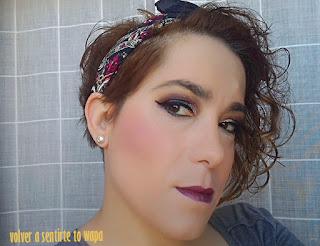 MAKE UP | delineado pin up con ojos en color