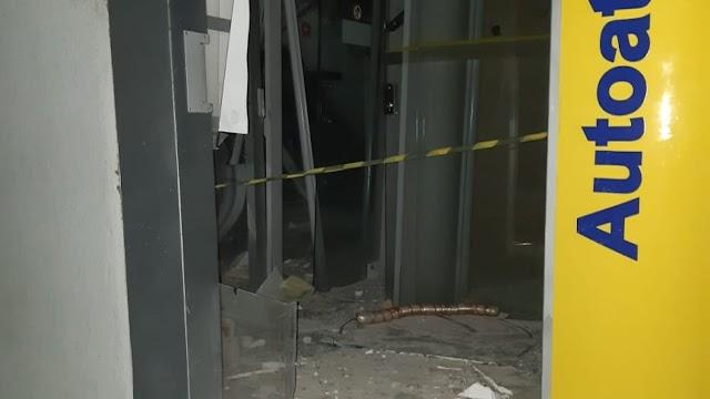 Agência do Banco do Brasil é atacada no município de Graça-CE