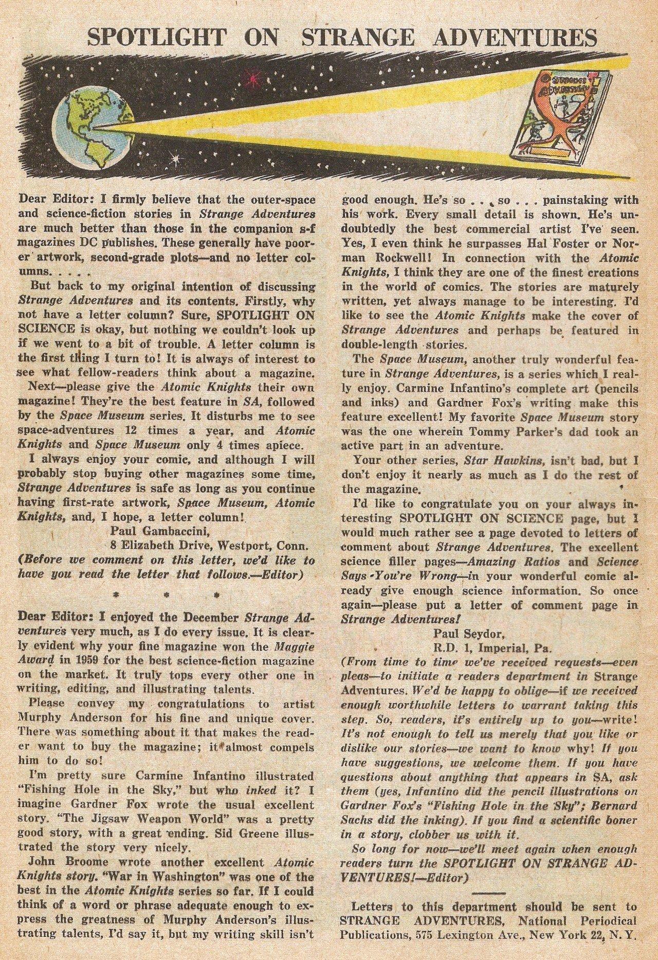 Strange Adventures (1950) issue 139 - Page 12