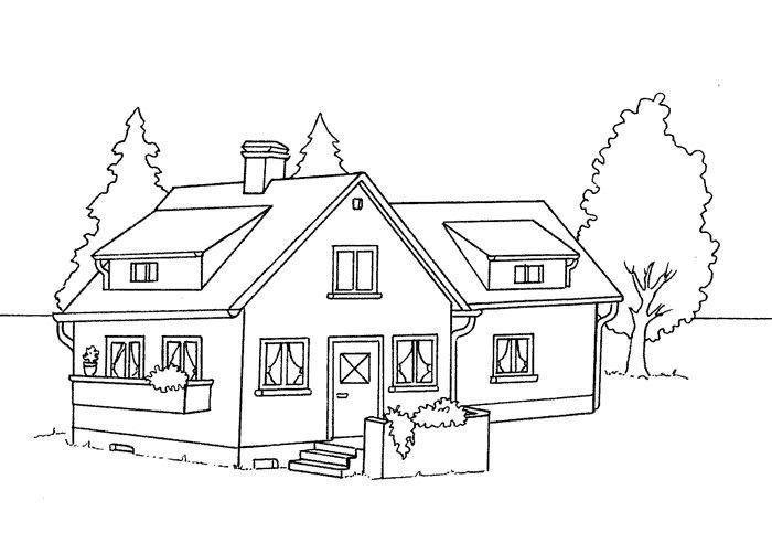 A hist ria das moradias atividades e modelos de casas for Disegni di casa in stile fattoria