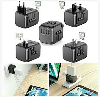 Saunorch Multi-USB Port - Universal Wall Adapter