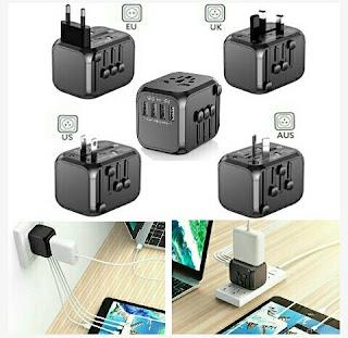 Saunorch Multi-USB Port - Universal Wall Adapter