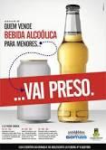 Pais podem ser multados por uso de bebida alcoólica pelos filhos -Blitze na Avenida da Praia