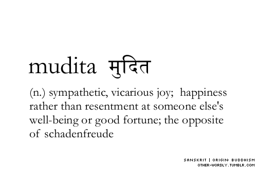 Image result for Mudita – sympathetic joy