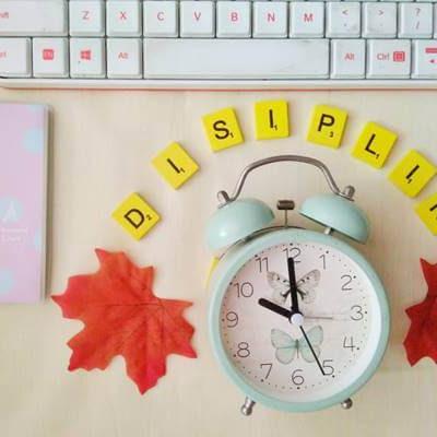 Resolusi 2019 : Disiplin Dalam 5 Hal Ini