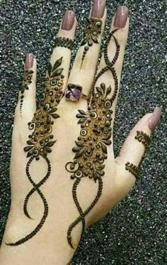 Designs for fingers