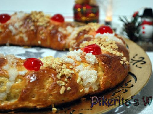 Roscón de Reyes #SinGluten