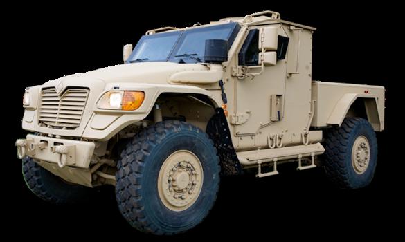 World Defense Review: International MXT cargo wheeled
