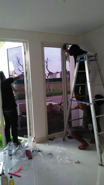 Pemasangan kaca film Rumah, Kantor, Gedung