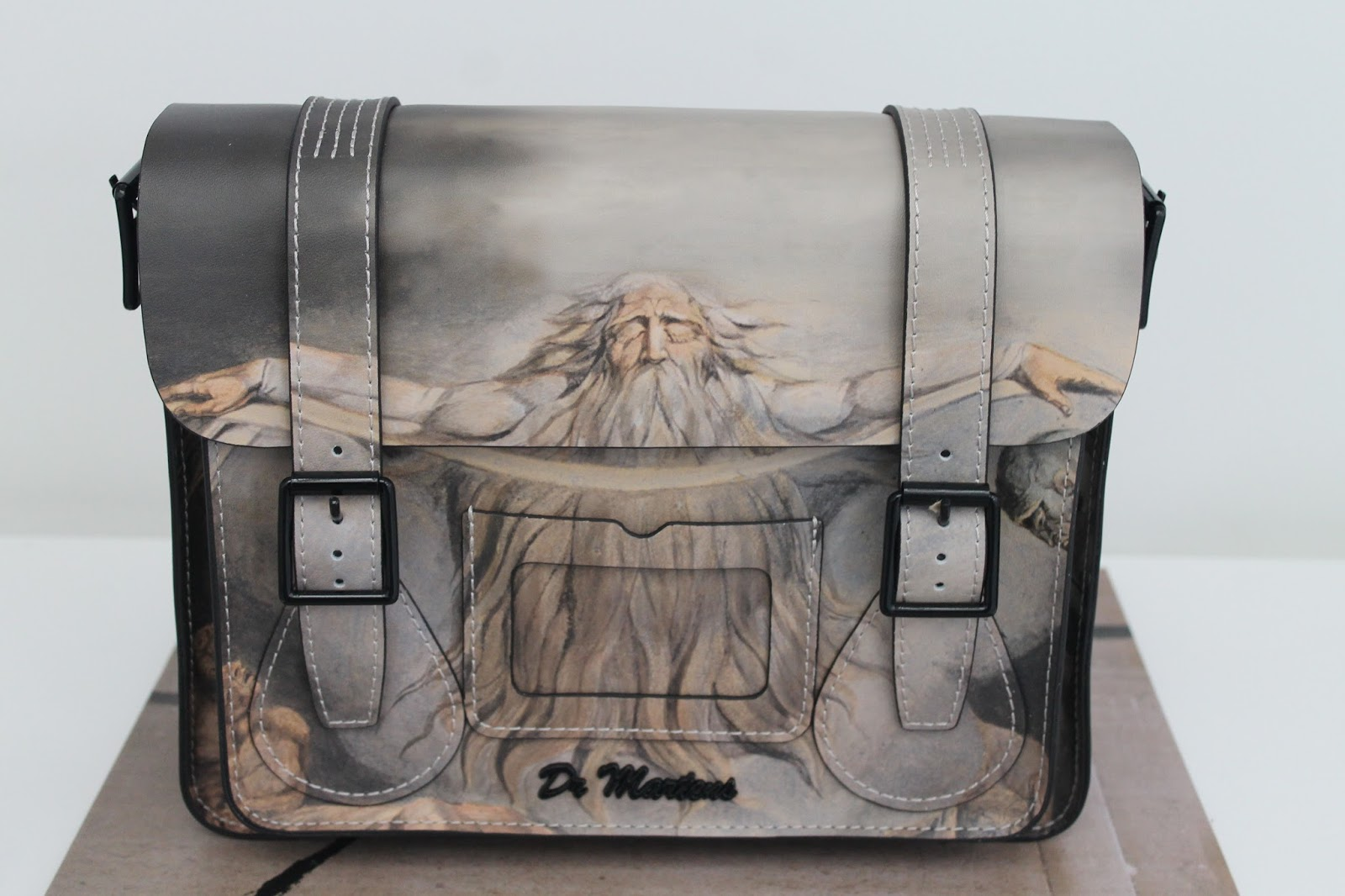 868f33b9bf  Not Yet  This gorgeous satchel is by Dr Martens and it depicts William  Blake s