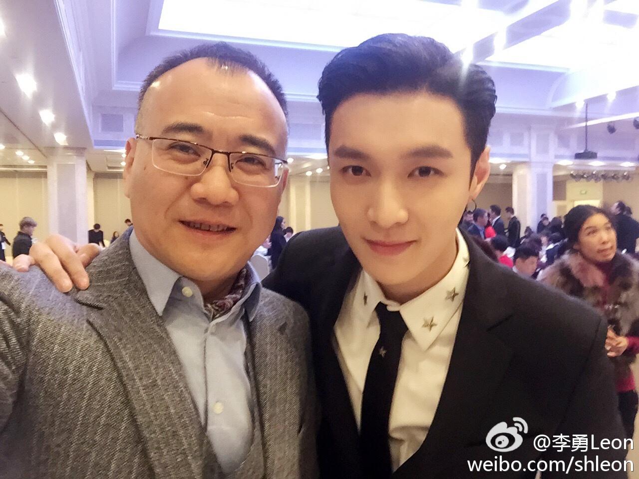 170226 李勇Leon Weibo Update with Lay