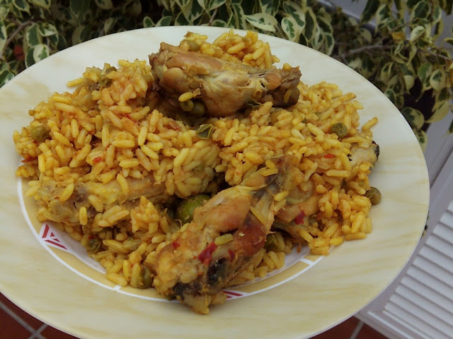 ARROZ CON POLLO EXPRES EN GM E
