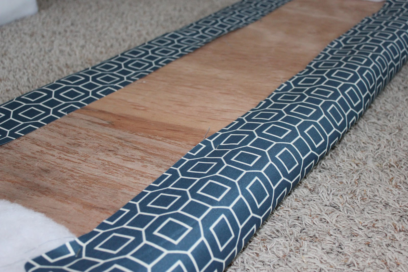 Diy Bench Cushion No Sewing Required Homestead 128