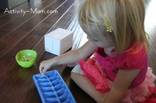 Roll and Count Beginning Counting Game
