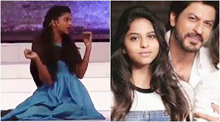 Suhana acts in the role of 'Cinderella'.