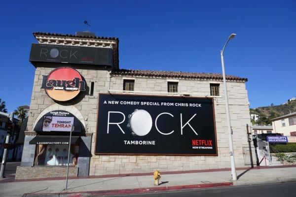 Chris Rock Tamborine billboard