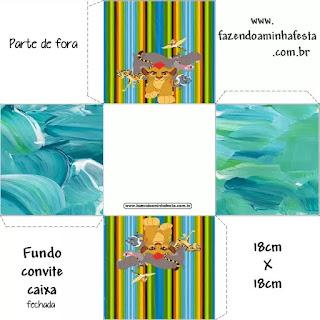 La Guarida del León: Cajas para Imprimir Gratis.