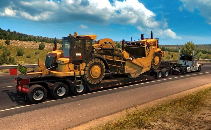 American Truck Simulator ganha pacote de cargas super pesadas