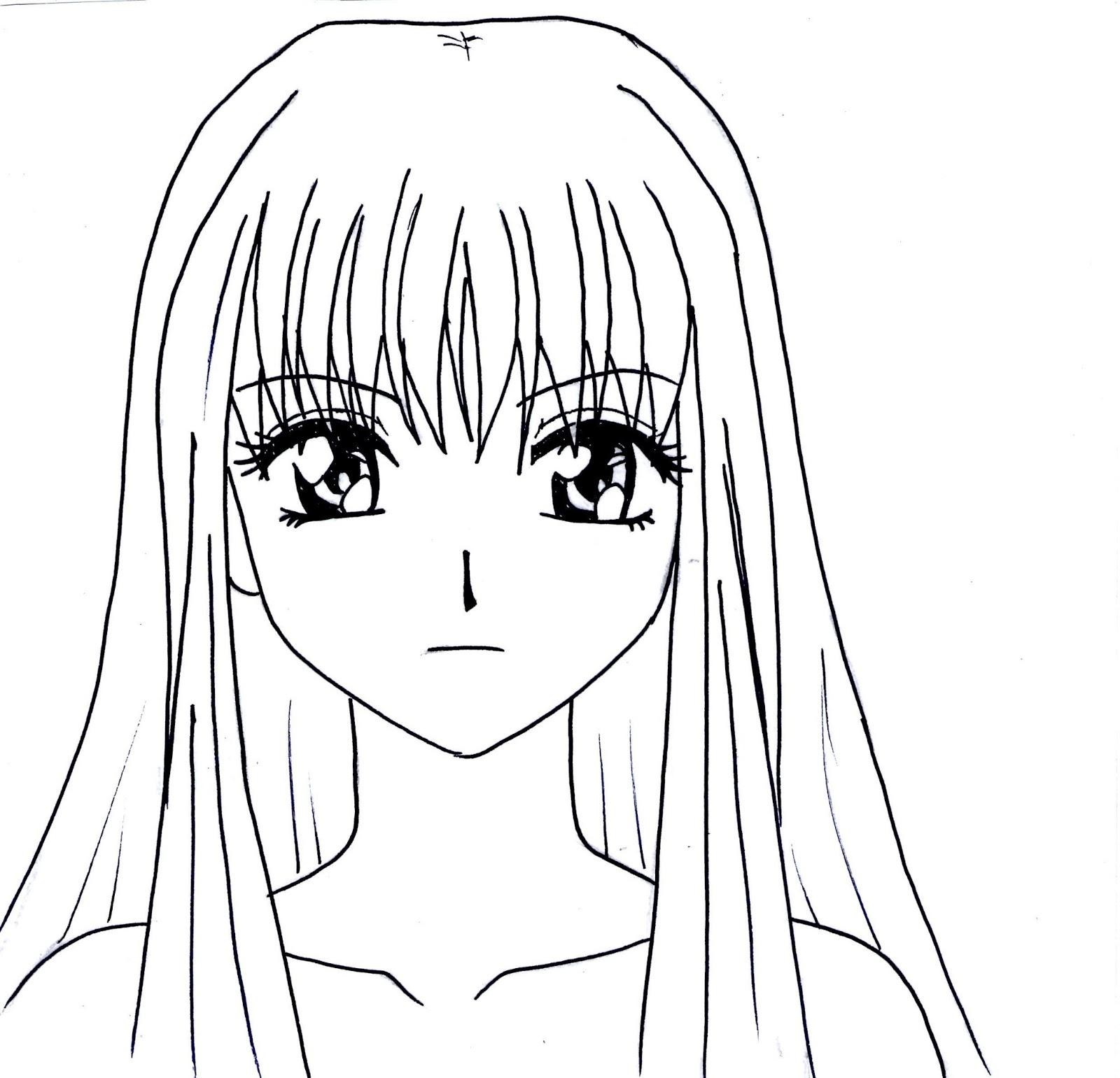 Immagini manga da colorare
