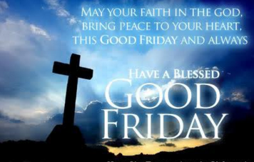 Aww! Today Is Good Friday