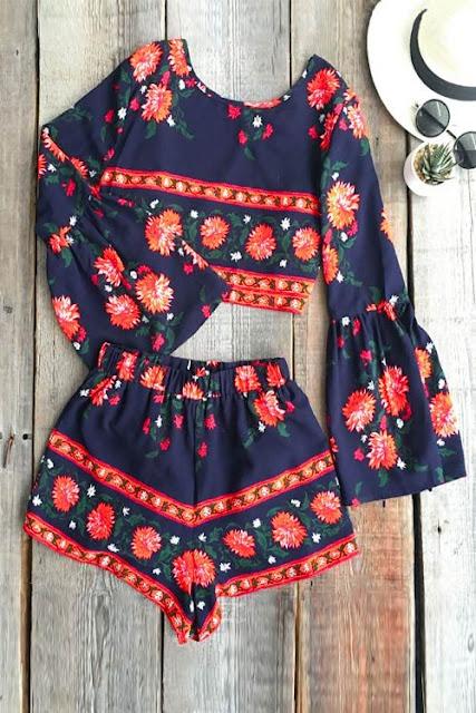 bell-sleeve-romper-printed-dress