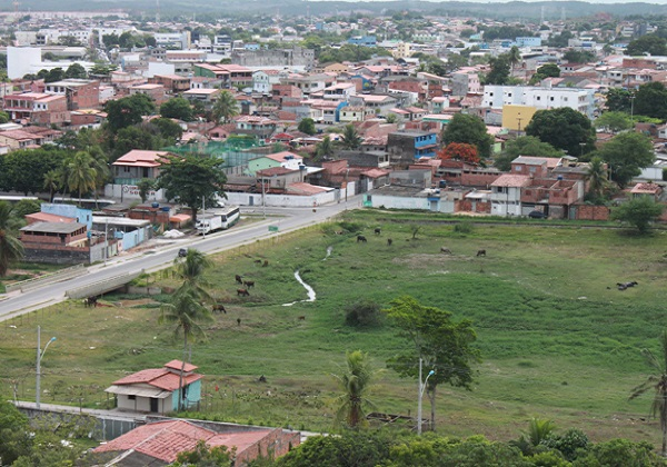 Bairro do Bomba  (Foto: Aristeu Chagas / Prefeitura de Camaçari)
