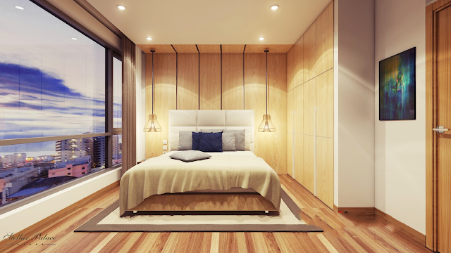 Phòng ngủ dự án Stellar Palace