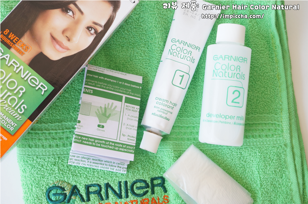 Review Garnier Hair Color Natural Darkest Brown Im Piccha