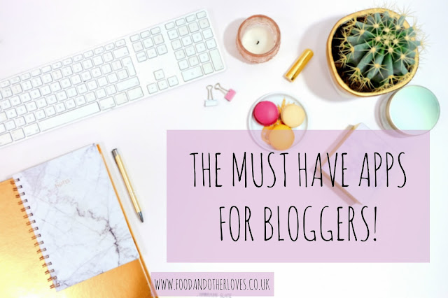5 Must Have Apps For Bloggers including Buffer, Paypal, Influenster, Bloglovin