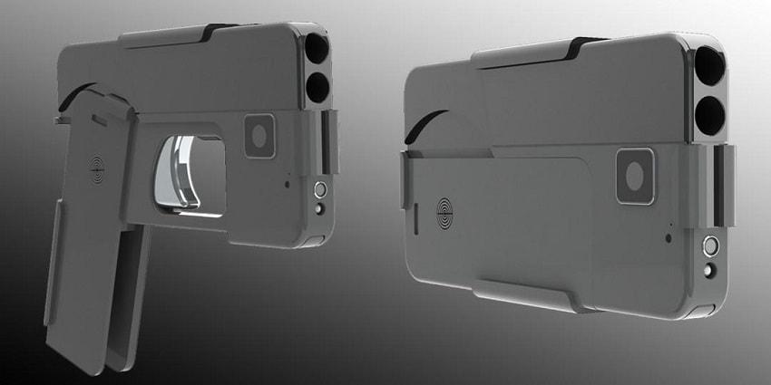 Ideal Conceal, Ideal Conceal IC380, IC380, пистолет телефон, пистолет смартфон, огнестрельный смартфон, пистолет трансформер