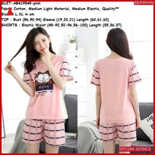 SCP088P43 Piyama Garfield Terbaru Setelan Baju Tidur Wanita | BMGShop