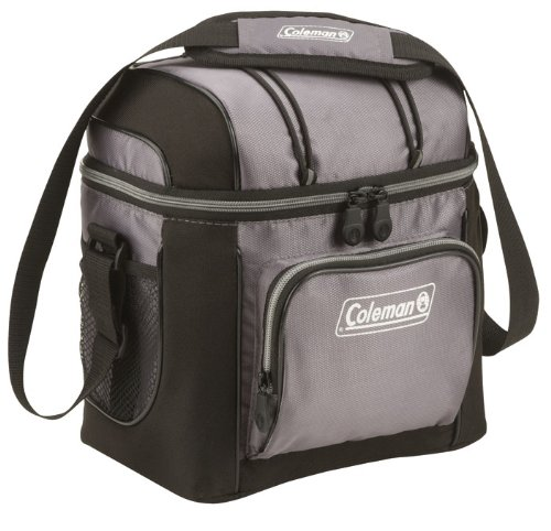 9-Can Soft Cooler With Hard Liner and you can grab it in gray for only $9 (reg $30)