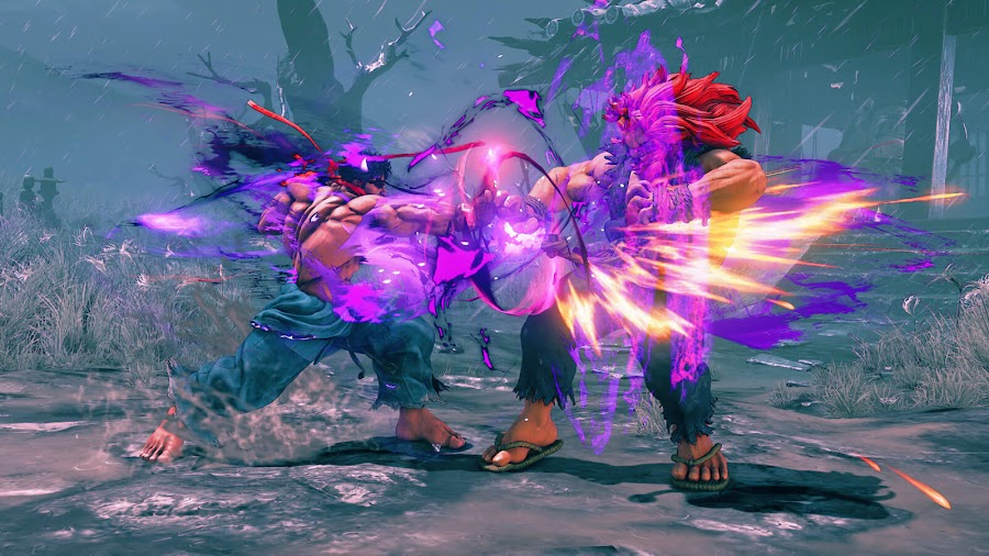 street fighter 5 arcade edition kage satsui akuma