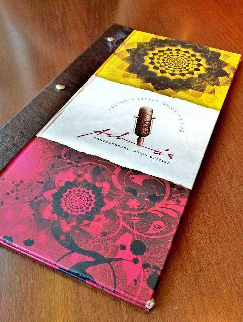 Dessert Menu at Asha's, The Avenues, Kuwait