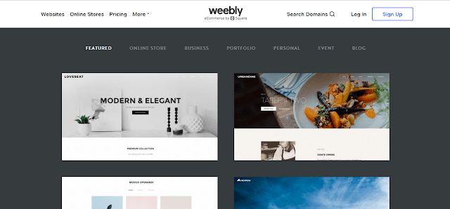 weebly,blogging platforms,bloggiing,free website maker