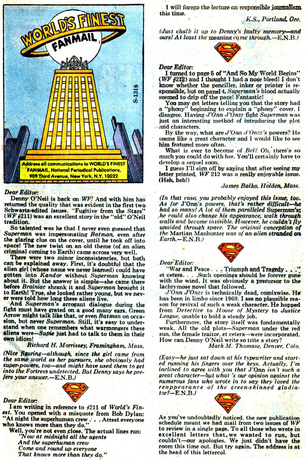 Read online World's Finest Comics comic -  Issue #214 - 33