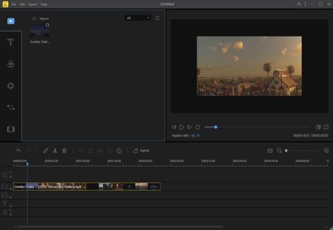 cara menggabungkan video melalui situs apowersoft