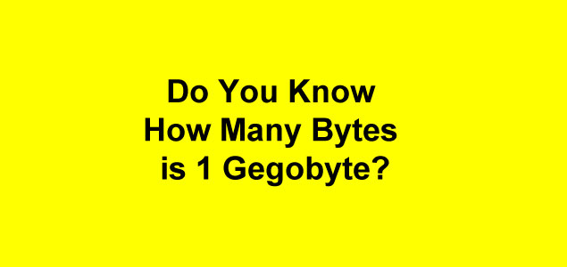 bytes to gb