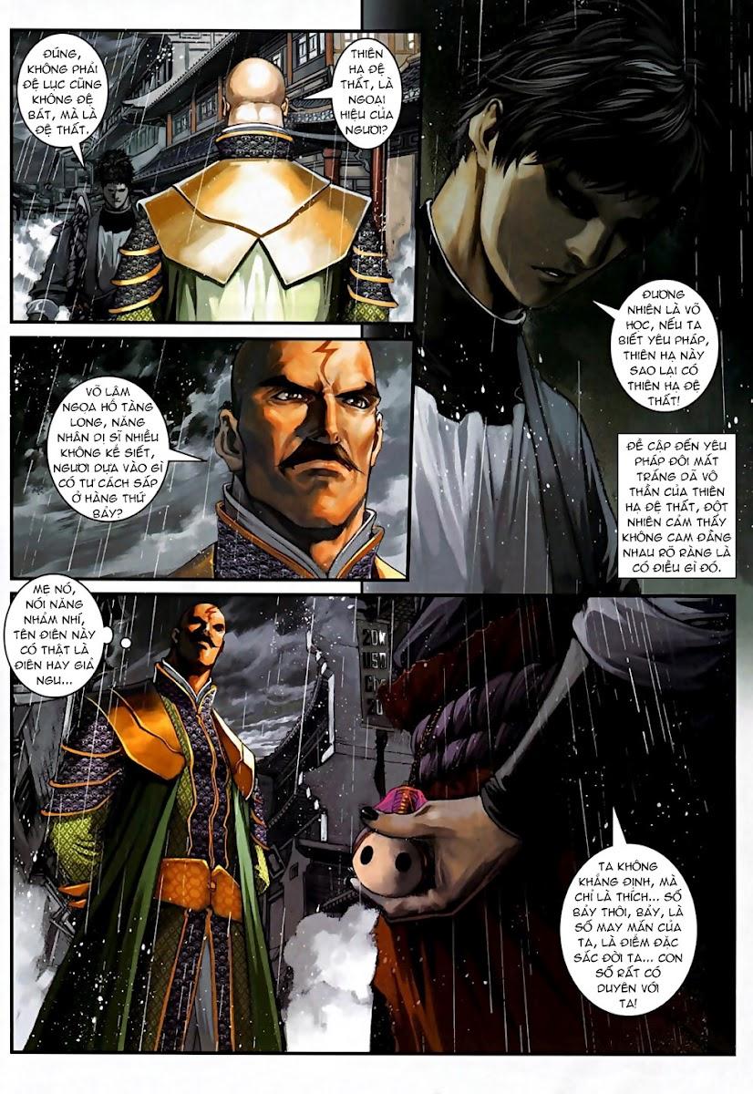 Ôn Thuỵ An Quần Hiệp Truyện Phần 2 chapter 5 trang 10