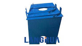 Sản phẩm hộp đồng hồ nước nắp xoay của công ty cổ phần Làng Rùa