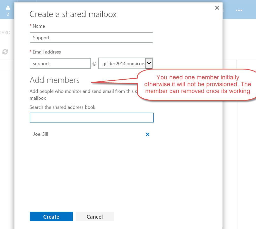 Joegillcom Crm Queue With A Office 365 Shared Mailbox