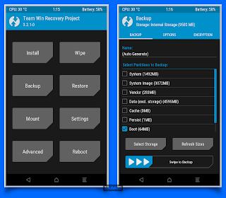 Cara Install TWRP Recovery Xiaomi Mi Mix 2s