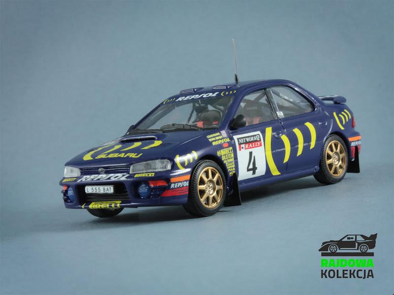Trofeu Subaru Impreza 555 NetworkQ Rally 1995