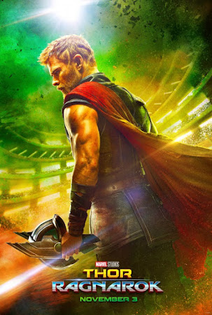 Poster Of Thor Ragnarok 2017 In Hindi Bluray 700MB Free Download