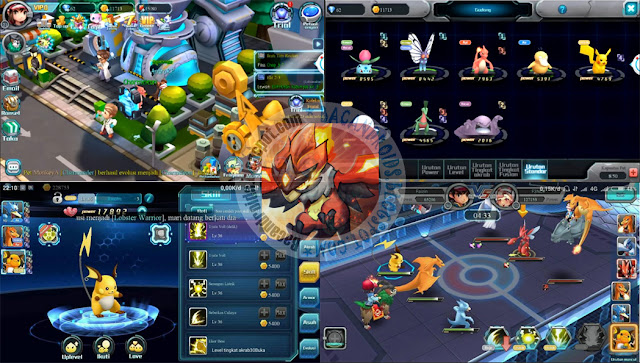 Monster PVP unreleased Pokemon RPG New Apk Data full terbaru