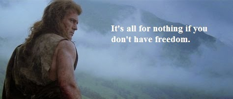 William Wallace Motivational Movie Quote