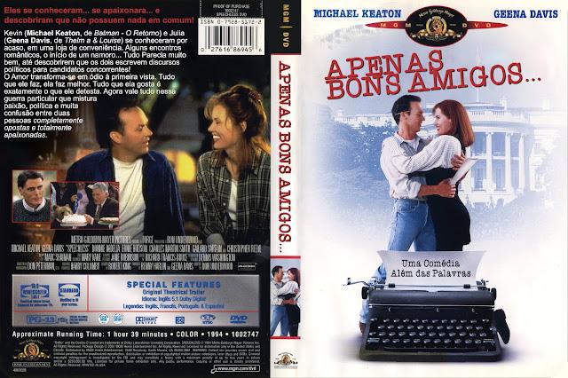 Capa DVD Apenas Bons Amigos... [Custom]