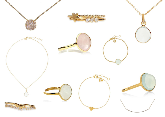 The City Girl Blog Simple Treasures Z collection by Accessorize