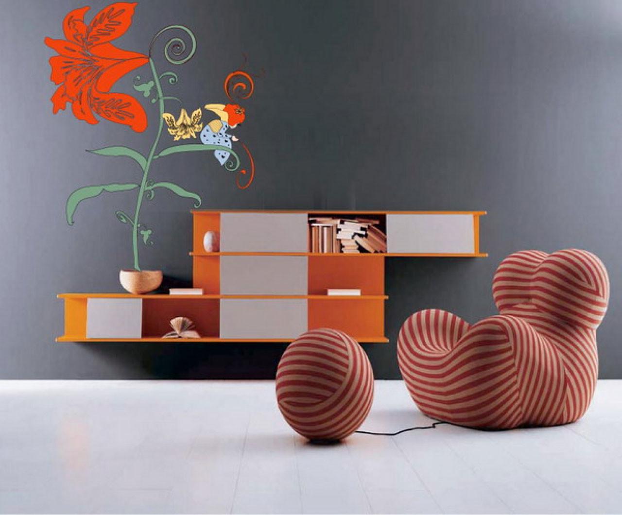 Desain Wallpaper Dinding Terbaik Cocok Untuk Ruang Tamu Kamar